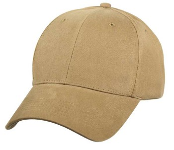 Plain Front Coyote Baseball Cap