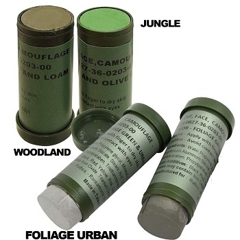 2 Color NATO Military Camo Face Paint Stick