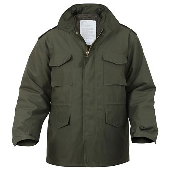 Olive Drab M-65 Field Jacket with Liner