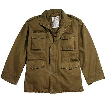 Basic Issue Vintage Russet Brown M-65 Field Jacket