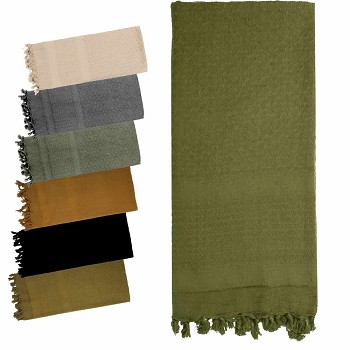 Solid Color Shemagh Tactical Scarf