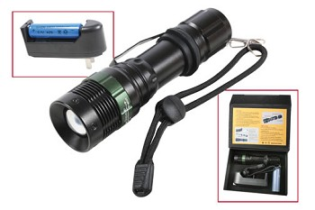 3 Watt Tactical LED Flashlight