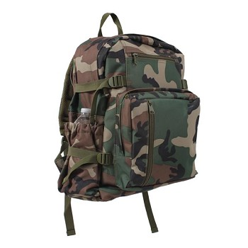Basic Issue Woodland Camouflage Backpack