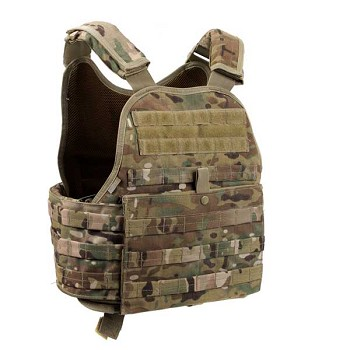Multicam MOLLE Plate Carrier Tactical Vest