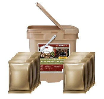 Wise 60 Serving Protein Grab and Go Emergency Food Bucket