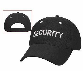 Mesh Security Baseball Cap