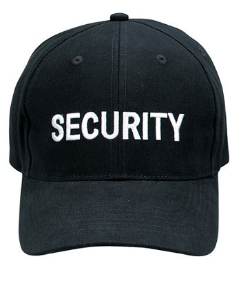 Security Supreme Low Profile Baseball Hat