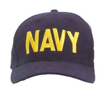 Navy Low Profile Baseball Hat