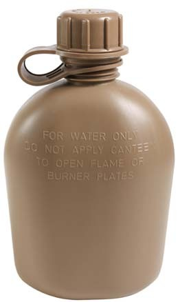 Marine Coyote Brown Canteen