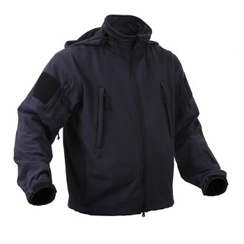 Special Ops Midnight Blue Soft Shell Tactical Jacket
