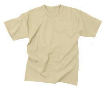 Short Sleeve Fire Retardant T-Shirt - Sand