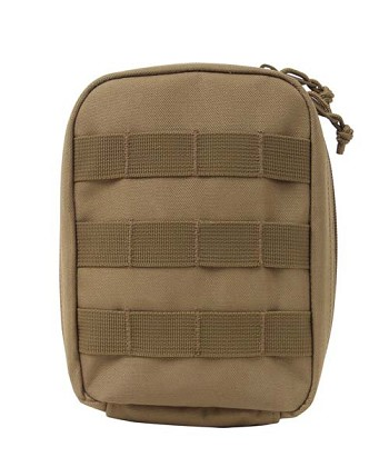 Basic Issue Coyote MOLLE First Aid Kit