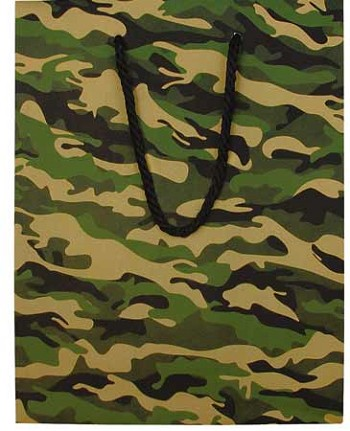 Camouflage Gift Bag