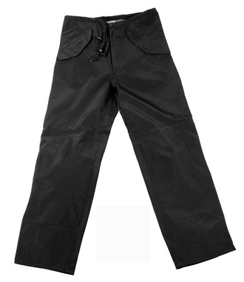 Basic Issue Military Generation II Black Waterproof Breathable Pants