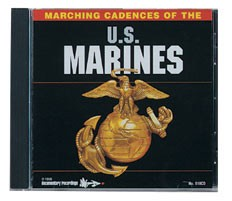 Marching Cadences of the U.S. Marines CD