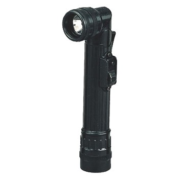 Black AA Anglehead Military Flashlight