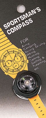 Sportsman's Watchband Wrist Compass