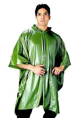 All Weather Vinyl Rain Poncho