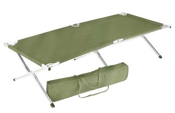 G.I. Type Oversized Aluminum Folding Cot