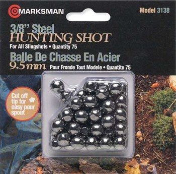 Marksman Steel Shots