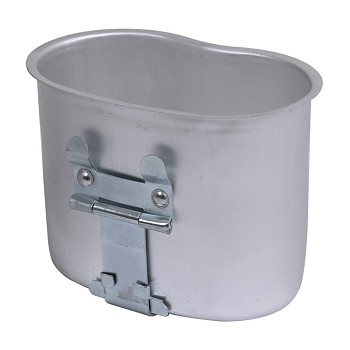 Military Style Aluminum Canteen Cup