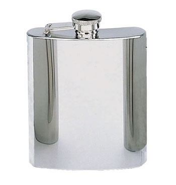 8-ounce Stainless Steel Flask