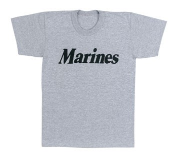 Marines Grey Kids T-shirt