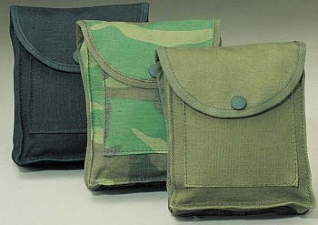 Olive Drab Canvas Utility Pouch