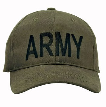 Olive Drab Army Baseball Hat