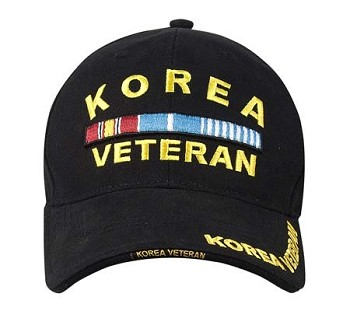 Korean War Veteran Baseball Hat