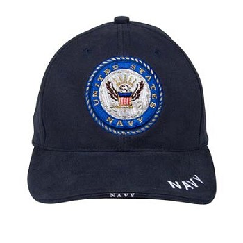 Blue Navy Logo Cap