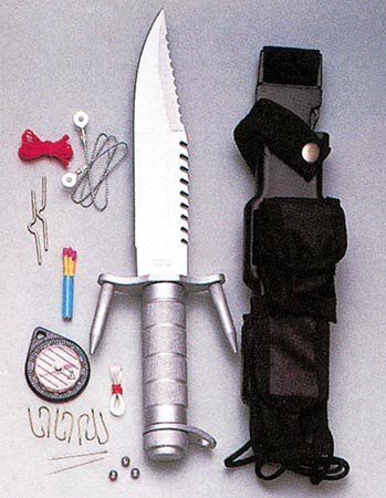 Ramster Survival Kit and Knife