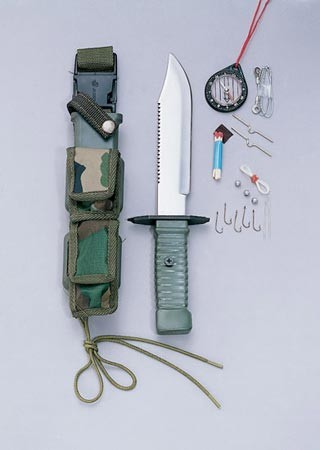 Special Forces Survival Kit and Knife
