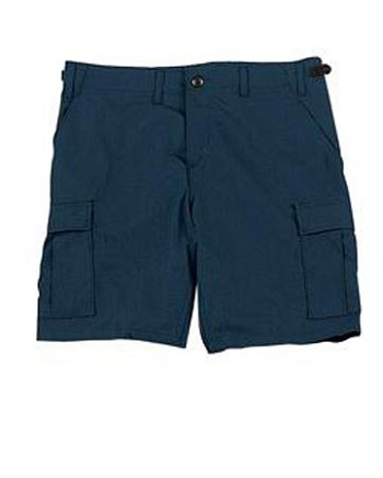 Midnight Blue Military BDU Cargo Shorts
