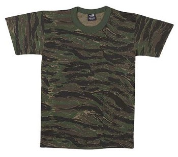 Tigerstripe Camo Military T-shirt