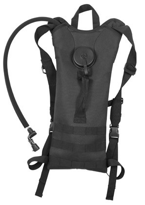 Black 2 Liter MOLLE Tactical Hydration Pack
