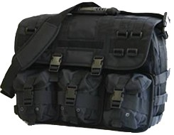 MOLLE Black Tactical Briefcase