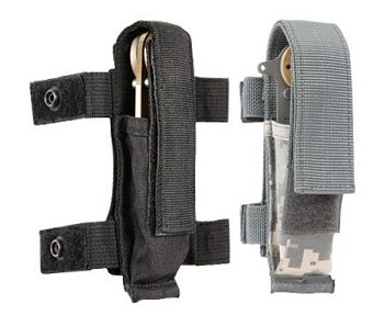 Knife Sheath and Flash Light MOLLE Pouch