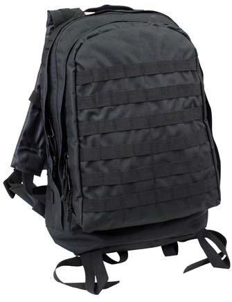 Black Forced Entry 3 Day Assault Pack