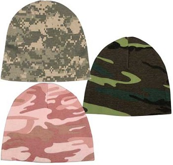 Camo Infant Crib Cap