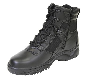 Basic Issue 6-Inch Side Zip Blood Pathogen Resistant Tactical Boot