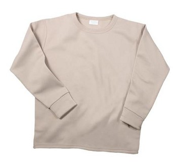 Military ECWCS Thermal Underwear - Sand Crew Neck Top