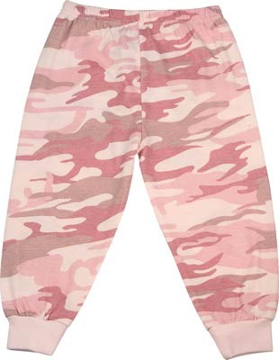 Infant Baby Pink Camouflage Pants