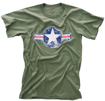Vintage OD Army Air Corps T-Shirt