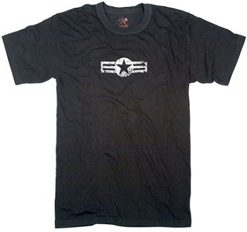 Vintage Black Army Air Corp T-Shirt