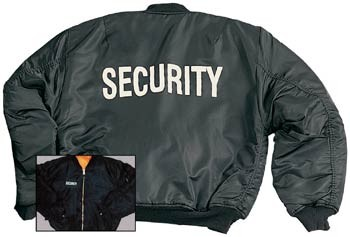 Security MA-1 Flight Jacket