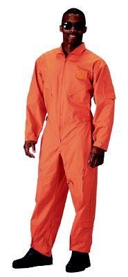 Orange Military Flightsuit