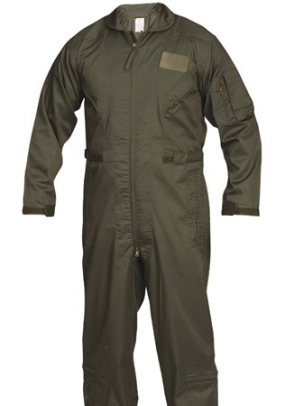 Olive Drab Military Flightsuit