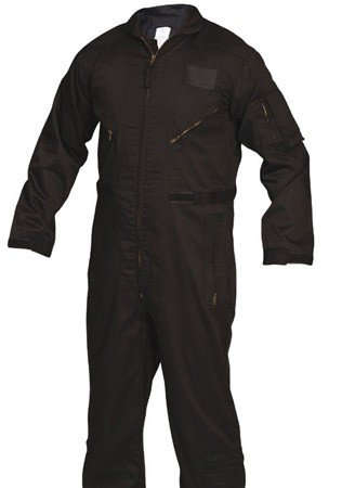 Black Military Flightsuit