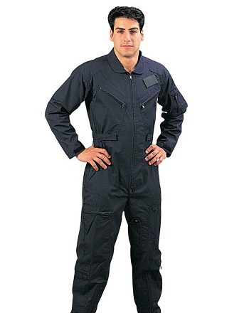 Navy Blue Military Flightsuit